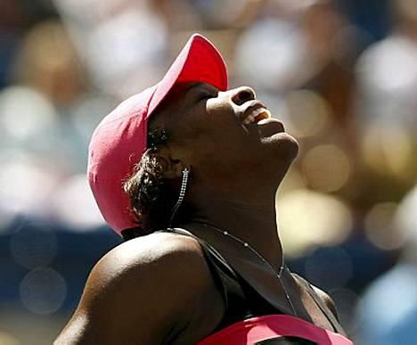 Serena Williams löi kaikki ällikällä ja valtasi tammikuussa Australian avoimet.