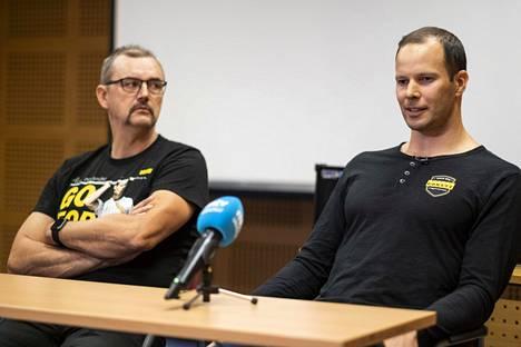 Hannu Kangas oli Tero Pitkämäen vieressä, kun monivuotinen menestysurheilija kertoi päättävänsä uransa.