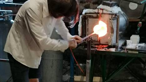 Vanhan valimon lasipaja Glasshyttan asettuu sekin talviteloille.