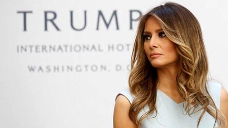 Melania Trump osallistuu kampanjointiin.
