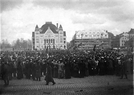 Vapunviettoa vuonna 1907.