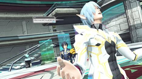 Phantasy Star Online 2:n graafinen ulkoasu on toteutettu perin juurin oikeaoppisella animetyylillä.