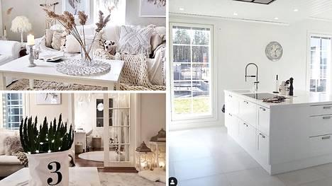 Moni rakastaa valkoista. Kysyimme kotiaan valkoisella sisustavilta, mikä värissä kiehtoo.