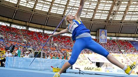 Vira Rebryk viime kesän MM-kisoissa Moskovassa.