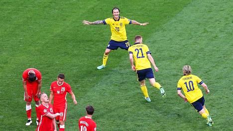 Ruotsi eteni jatkoon E-lohkon voittajana.