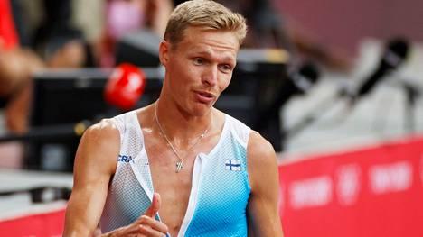 Karsinnan jälkeen syystäkin peukutellut Topi Raitanen huipentaa maanantain olympiapäivän suomalaisittain.