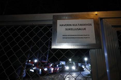 Kokenut, varttunut sukeltaja joutui vaaratilanteeseen puolenpäivän jälkeen Haverin vanhassa kultakaivoksessa.