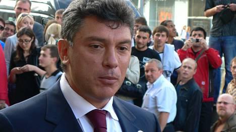 Tässä Boris Nemtsov kuvattuna vuonna 2009.