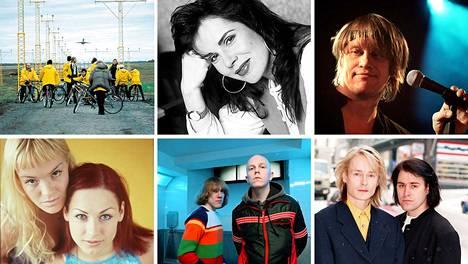 Ysärillä Suomessa soivat muun muassa Ultra Bra, Eppu Normaali, Apulanta ja Neon2.