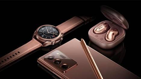 Samsung on julkistanut joukon uusia tuotteita. Malliston uutena värinä on pronssi.