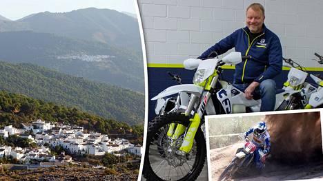 Moninkertainen maailmanmestari Kari Tiainen on toiminut yrittäjänä Espanjassa ja Suomessa. Tiainen järjestää endurosafareita Andalusian maastoissa.