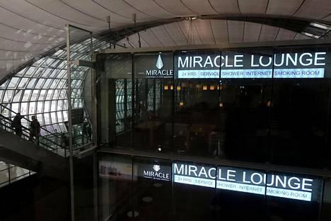 Al-Qununia säilytetään lentokenttähotellissa Bangkokin Suvarnabhumin lentoasemalla.