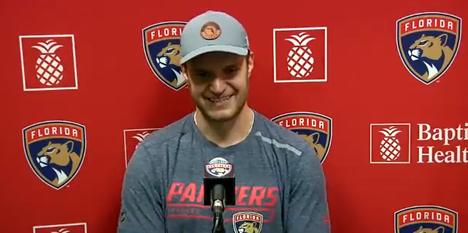 Barkov vastaili kysymyksiin kauppahuhuista.