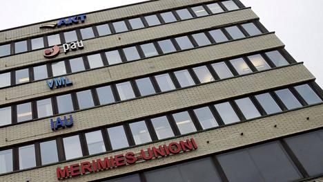 Suomen Ammattiliittojen Keskusjärjestön SAK:n toimitalo jossa AKT, PAU, VML, IAU ja Merimies-unioni pitävät toimistoaan. Merimies-unioni, IAU ja JHL ovat ilmoittaneet tukilakoista.