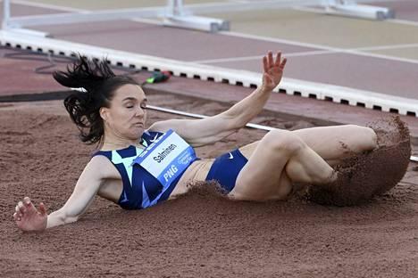 Senni Salmisen huippuvire jatkunee Tokion olympialaisissa.
