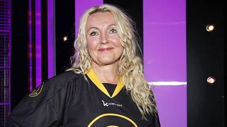 Mari Perankoski oli yksi lauantai-illan Putous Allstars -jakson näyttelijöistä.