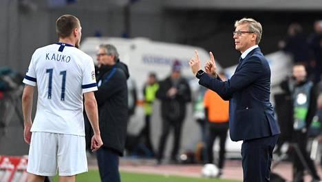 Markku Kanerva nimesi Huuhkajien aloituskokoonpanon Unkaria vastaan – neljä muutosta Kreikka-pelistä