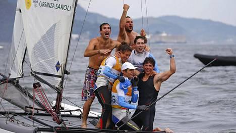 54-vuotias purjehdustähti on Rion vanhin mitalisti – voitti kultaa, vaikka osa keuhkosta puuttuu