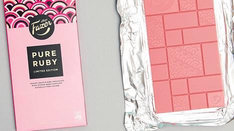 Fazerin erikoinen vaaleanpunainen suklaa meni kuin kuumille kiville.