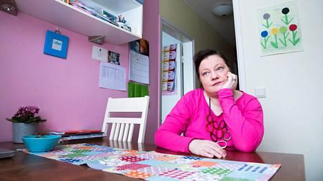 Leena Honkavaara sairastui synnytyksen jälkeiseen masennukseen vuonna 2004.