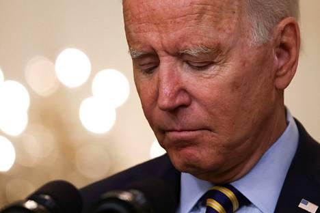 Presidentti Joe Biden uskoi, että Afganistanin johtajilla oli kyky pitää hallinto kasassa.