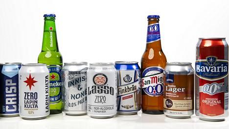Alkoholittomien myynti kasvoi räjähdysmäisesti – nämä ovat suosituimmat tuotteet