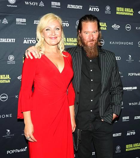 Mari Perankoski ja Jouni Hynynen vuonna 2018.