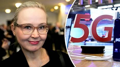 Eeva-Johanna Eloranta (sdp) piti seminaarin radiotaajuisen säteilyn terveysvaikutuksista.