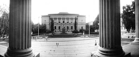 Suomen Pankki kuvattuna vuonna 1986.