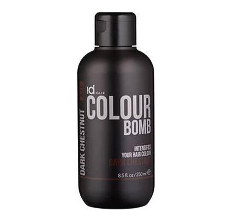 IdHair Colour Bomb on uuden sukupolven sävyhoito, joka voimistaa hiusväriä ja ravitsee hiuksia yhdellä käsittelyllä. Tuotteilla voi voimistaa myös luonnollista hiusväriä. IdHair Colour Bomb 14,90 € / 250 ml, 22 sävyä.