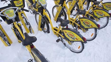 Kaupunkipyörät ilmestyivät Helsingin katukuvaan huhtikuussa.