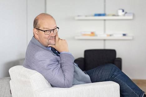 Johtaja Jaakko Kiander, Eläketurvakeskus.
