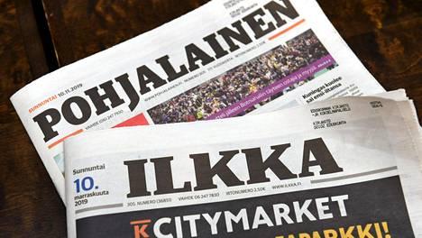 Ilkka-yhtymän lehdet Ilkka ja Pohjalainen yhdistyivät tänä vuonna.