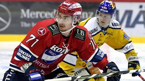 Michael Keränen on vakuuttanut HIFK:ssa.