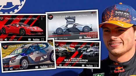 Max Verstappen on autoharrastaja vapaa-ajallaankin.