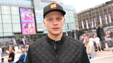 Ville Husso kuvattuna Helsingissä vuonna 2018.
