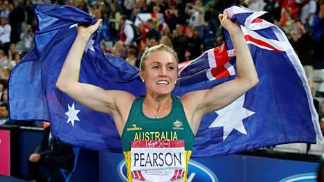 Sally Pearson ei puolusta olympiakultaansa Riossa.