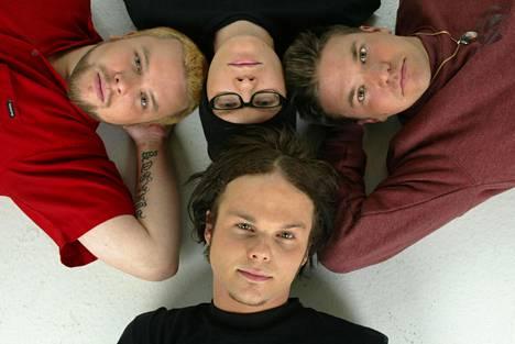 The Rasmus vuonna 2003.