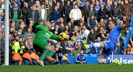 John Terryn yliajalla tekemä osuma pelasti Chelsean.