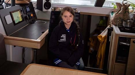 Greta Thunberg purjehtii seuraavaksi kohti Espanjaa.
