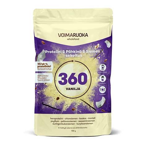 Voimaruoka Proteiini-pähkinä-siemensekoitus, 37,20 €, mm. Life.