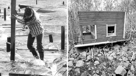 Mauri kylvi tuhoa vuonna 1982.
