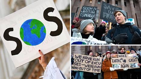 Monet nuoret ovat huolissaan ilmastonmuutoksesta, ja perjantaina on tarkoitus järjestää kansainvälinen nuorten ilmastolakko. Osa suomalaiskouluista kannustaa oppilaitaan osallistumaan lakkoon, osa ei.