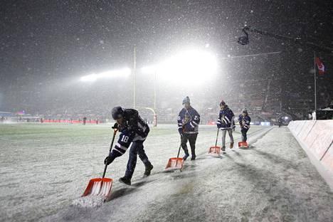 Ottawassa pelattiin CFL-liigan finaali lumisissa oloissa.