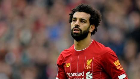 Mohamad Salah on iskenyt Valioliigassa Liverpoolille neljä maalia tällä kaudella.