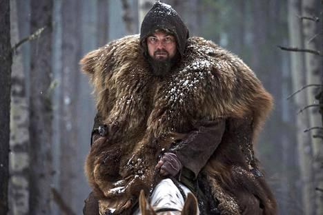 Leonardo DiCaprio nähtiin The Revenantissa.