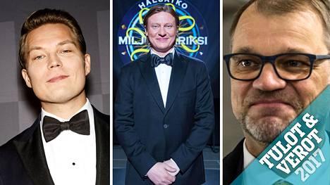 IS:n verokoneen haetuimpien nimien listaa hallitsi tänäkin vuonna tuttu kolmikko: Jare Tiihonen, Jaajo Linnonmaa ja Juha Sipilä.