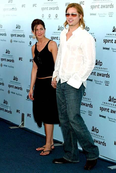 Vuonna 2003 pari rennommin pukeutuneena Inpendent Spirit Awards -gaalassa.