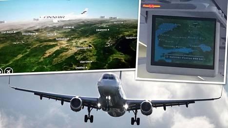 Lentomatka sai helsinkiläisen Teron pohtimaan karttapalvelun toimintatapaa.
