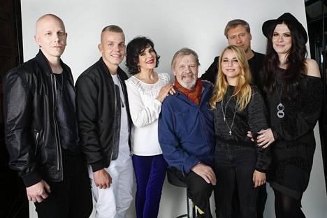 Edelmann ja Vesala tähdittivät samaa Vain elämää -tuotantokautta.